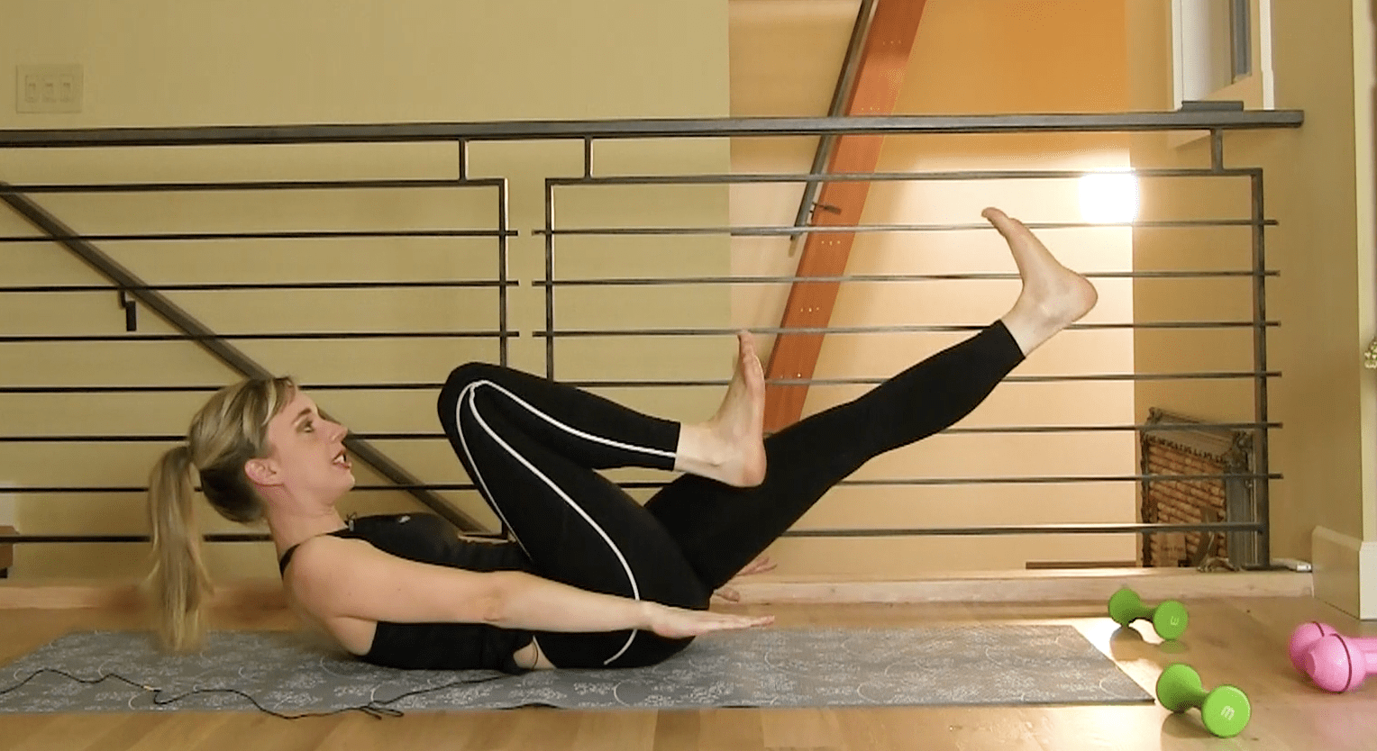 20 Minute Pilates Tone Up!