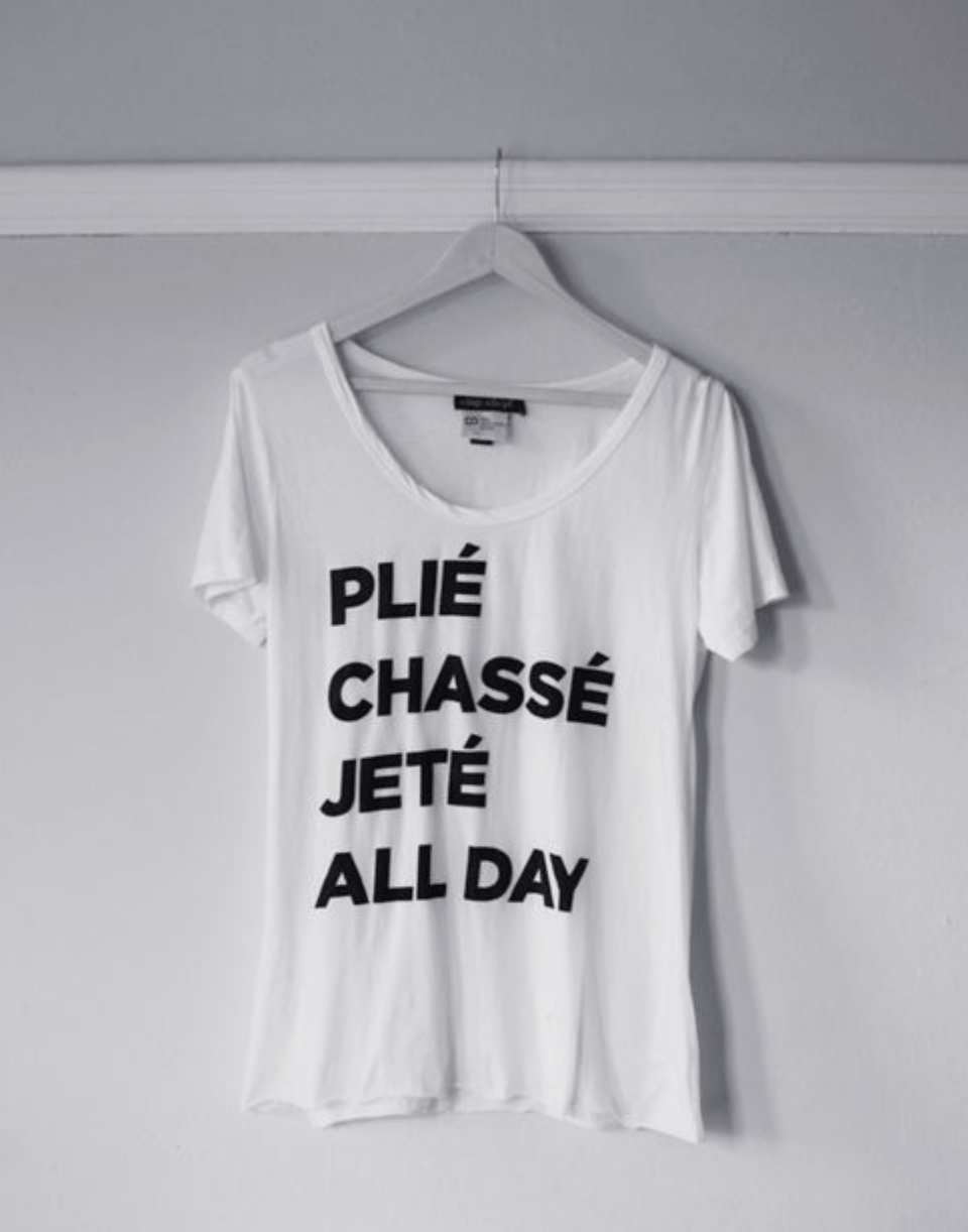 Barre T-Shirt Favorites: In the Mood to Move!