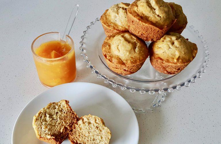Sunday Morning Banana Muffin Recipe!